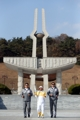 La antorcha olímpica en Gwangju