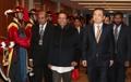 El presidente de Sri Lanka visita Corea del Sur