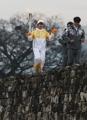 La antorcha olímpica en Namwon