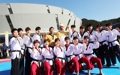 La antorcha olímpica en Muju