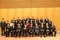 韓日協力委 安倍首相を表敬訪問