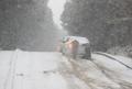 済州島に大雪注意報