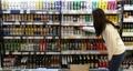 輸入ビールの販売量急増