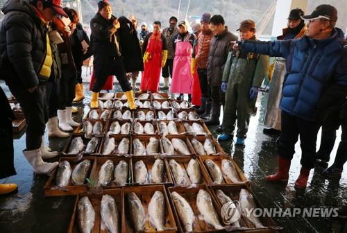 물고기 잡고·곶감 맛보고…경남 겨울축..