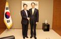 駐日韓国大使と公明党・山口代表が会談