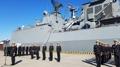 韓国駆逐艦が横須賀寄港