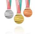 平昌パラリンピックのメダル