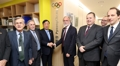 Avec l'ambassadeur de l'UE en Corée