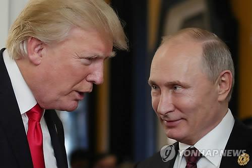 """트럼프 """"푸틴과 주로 北문제 얘기해, 러시아 도움 원한다"""""""