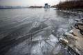 El río Hangang se congela en la fecha más temprana en 71 años