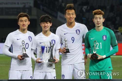 K리그 MVP 이재성, E-1 챔피언십서도 MVP…태극전사 '상복'(종합..