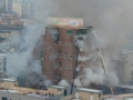 Se incendia un polideportivo en Jecheon