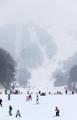 Esquiando en Corea del Sur