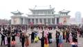Fiesta de baile en Corea del Norte