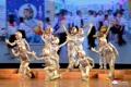 Los estudiantes norcoreanos realizan una actuación de Año Nuevo