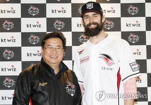 "'kt 니퍼트'를 향한 기대…""책임감이 멋진 선수"""