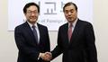 Los jefes negociadores nucleares de Seúl y Pekín