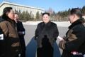 Kim Jong-un à l'Académie d'Etat des sciences