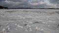 海も凍る寒さ