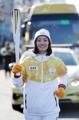 Flamme olympique à Incheon