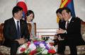 PM coréen et mongol