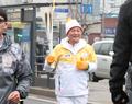 Flamme olympique dans l'ouest de Séoul