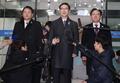 韩朝冬奥会谈韩方代表团启程赴会