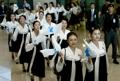 الكوريتان تتفقان على إرسال الشمال فرقة مشجعين إلى أولمبياد بيونغ تشانغ