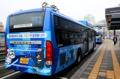 حافلات داخل سيئول تشارك في حملة ترويج أولمبياد بيونغ تشانغ