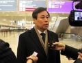 El Ministro de Deportes surcoreano en Suiza