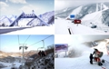 北朝鮮のスキー場