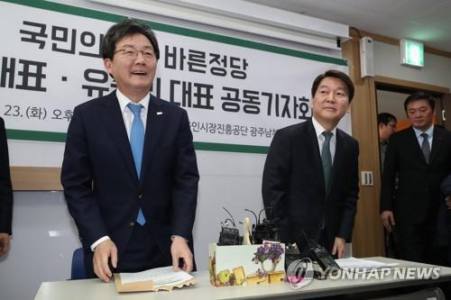 """安 """"민생·지역경제·미래가 키워드"""", 劉 """"먹고사는 문제 해결""""(종합2보.."""
