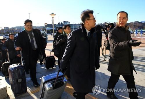 Une délégation sud-coréenne se dirige vers le Nord pour préparer des événements conjoints à l'occasion des JO