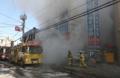 病院で火事 死傷者多数