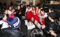 北朝鮮選手の誕生日パーティー