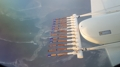 気象観測機が初飛行