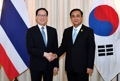 Avec le PM thaïlandais