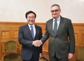 Envoyés nucléaires sud-coréen et russe