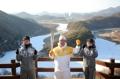 Torche olympique à Yeongwol