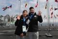 Arrivée au village olympique de Gangneung