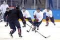 Hockeyeuses des deux Corées