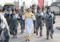 Flamme olympique à Gangneung