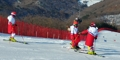 Skieurs nord-coréens