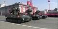 Parade militaire nord-coréenne