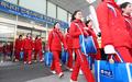 Las animadoras norcoreanas en PyeongChang