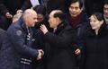 Kim Yong-nam avec le président suisse
