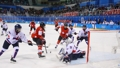 El equipo intercoreano femenino de 'hockey'