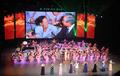 Actuación de la troupe norcoreana