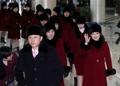 北朝鮮芸術団が陸路で帰還