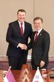 Cumbre Corea del Sur-Letonia